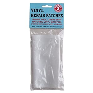 Vinyl repair patch swimming pool and spa parts and accessories patio lawn garden for Boxer 4 oz vinyl swimming pool liner repair kit