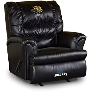 NFL Jacksonville Jaguars Big Daddy Leather Recliner by Imperial
