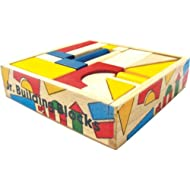 Skillofun Junior Building Blocks (38 Piece), Multi Color