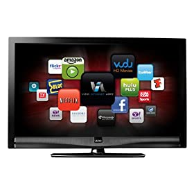 VIZIO M421VT 42-Inch 120 Hz Class Edge Lit Razor LED LCD HDTV with VIZIO Internet Apps, Black