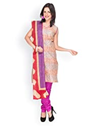 EQ Women Pure Cotton Blue Color Salwar Suit.