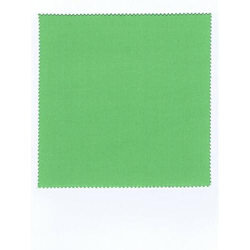 コネクト システムクロス メガネ拭きK 10×10cm グリーン マイクロファイバークロス