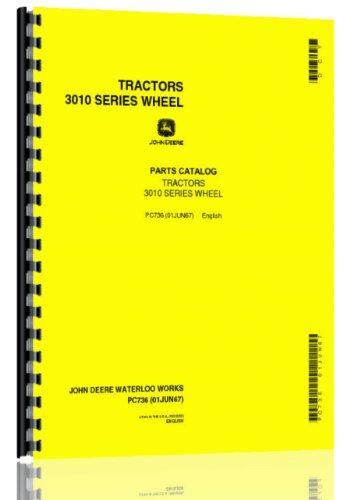 John Deere 3010 Tractor Parts Manual