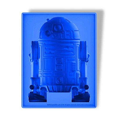 Star Wars - Forma in silicone di R2-D2 Droide XL - Per torte o budini o ghiaccio - 18x22x6cm