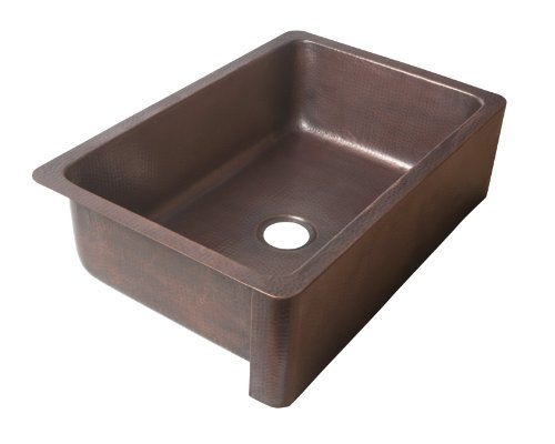 Ecosinks K1a 1004nd Apron Front Dual Mount Hammered 0 Hole