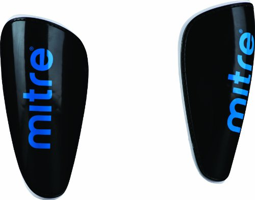 Mitre Viscous Lite Shinguard - Black/Cyan, X-Small