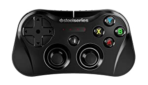 SteelSeries Stratus Wireless Gaming Controller for iPhone, iPad, and iPod Touch - Black