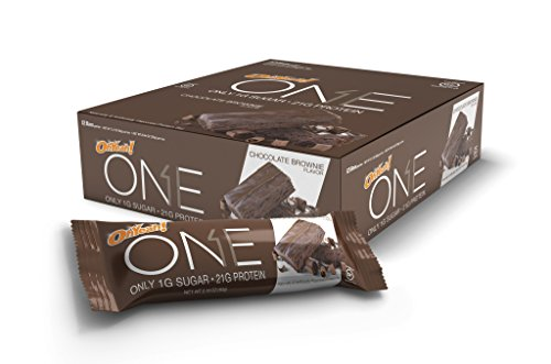 OhYeah! Nutrition One Bar Chocolate Brownie, 12 Count (Quest Bar Brownie compare prices)
