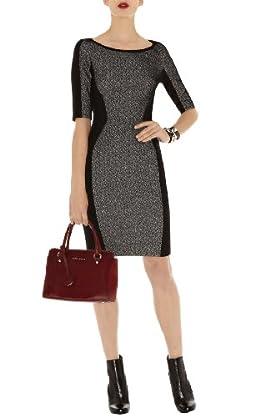 Texture Jersey Dress