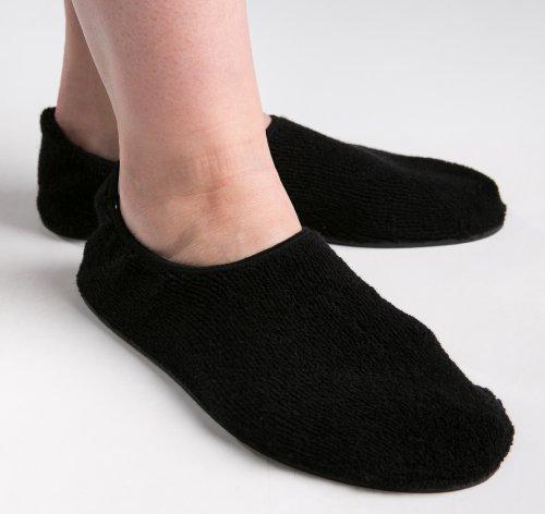 Non Skid Slipper Socks - Slip Resistant Rubber Sole For ...