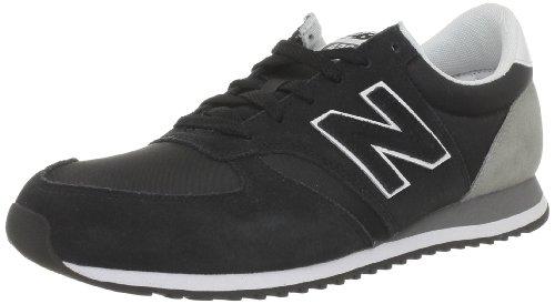New Balance U420 D 282361-60, Herren Sneaker, Schwarz (SNKK BLACK/GREY 8), EU 39.5 (US 6.5)