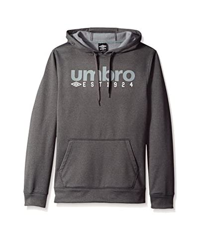 Umbro Men's Tec Fleece Logo Pullover Hoodie