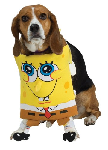 SpongeBob Squarepants Pet Costume, Small - 1