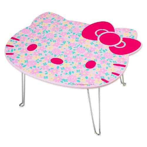 sale hello kitty folding table japan import  kidtablement