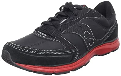 Saucony Originals Men's Mod O Fashion Sneaker,Black/Red,8 M US