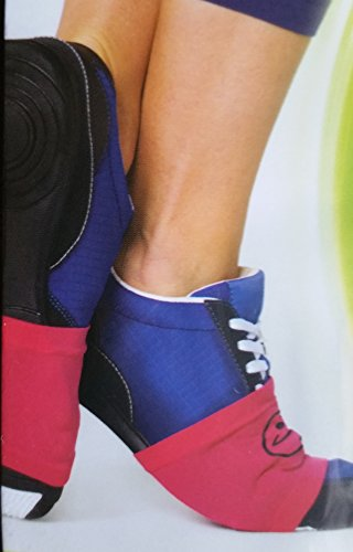 Zumba Sole Control Wraps 2 Pairs (Pink, Black)