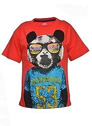 boys pepito t-shirt TOMATO 7-8 Y