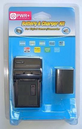 Pwr+® Charger for Panasonic De-a25b De-a45 De-a45b Dea25b Dea45 Dea45b & Battery Cga-s007 Cga-s007a/1b Cga-s007e Cgr-s007e Cgr-s007e/1b Dmw-bcd10 Cgas007 Cgas007a/1b Cgas007e Cgrs007e Cgrs007e/1b Dmwbcd10 Combo for Panasonic Lumix Dmc-tz1 Tz2 Tz3 Tz4 Tz5 Tz11 Tz15 Tz24 Tz50 Tz 1 2 3 4 5 11 15 24 50 Series Cameras
