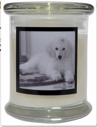 Aroma Paws 310 Breed Candle 12 Oz. Jar - Poodle
