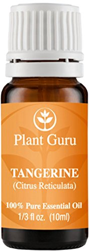 Tangerine Essential Oil. 10 ml. 100% Pure, Undiluted, Therapeutic Grade.