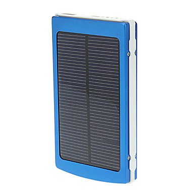 10000mAh Solar Power Bank External Battery for Photo