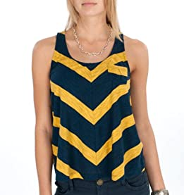 Stephanie Button Back Tank Top