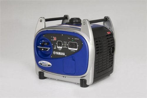 Yamaha EF2400iSHC, 2000 Running Watts/2400 Starting Watts, Gas Powered Portable Inverter via Amazon