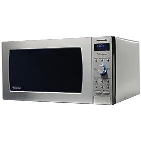 Panasonic Prestige NN-SD997S, 2.2cuft 1250 Watt Sensor Microwave Oven, Stainless Steel