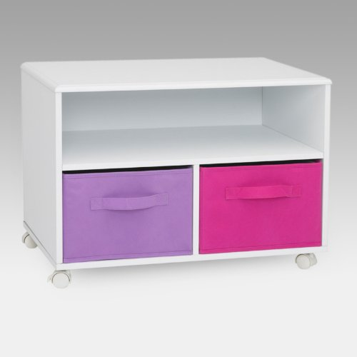 Cheap 4D Concepts Pastel TV Stand – Pink (B005TVM1YI)