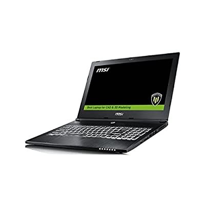 "MSI WS60 6QI 15.6"" Laptop (Core i7-6700HQ/ DDR4 8GB*2/1TB (SATA) 7200rpm+128GB SSD/ Windows10/Quadro M1000M, 2GB..."