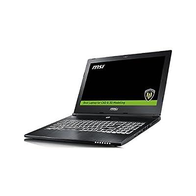 """MSI WS60 6QI 15.6"""" Laptop (Core i7-6700HQ/ DDR4 8GB*2/1TB (SATA) 7200rpm+128GB SSD/ Windows10/Quadro M1000M, 2GB..."""