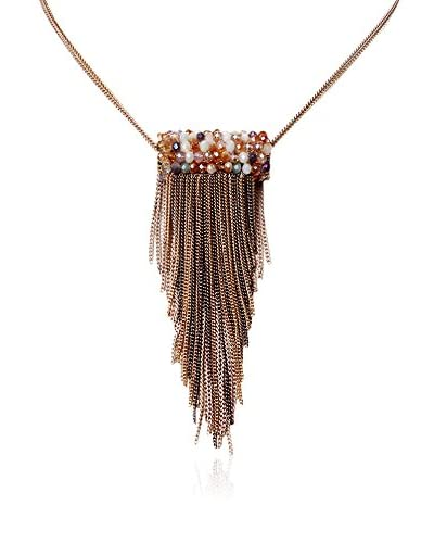 Amrita Singh Collar Rollo Fringe Choker Necklace