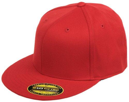 flexfit premium 210 fitted flat brim baseball hat. Black Bedroom Furniture Sets. Home Design Ideas