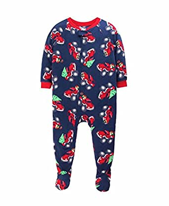 Footie pajamas or coveralls from Carter's are perfect for newborns to toddlers, for everything from naptime to playtime. And for boys and girls, they'll love getting tucked in with pajamas featuring their favorite characters or superheroes.