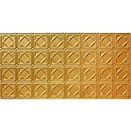 GLOBAL SPECIALTY PRODUCTS 207-04 Tin Look Nonsuspended Ceiling Tile Pack of 5