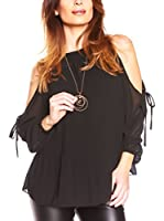 JUST SUCCES Blusa Elite (Negro)