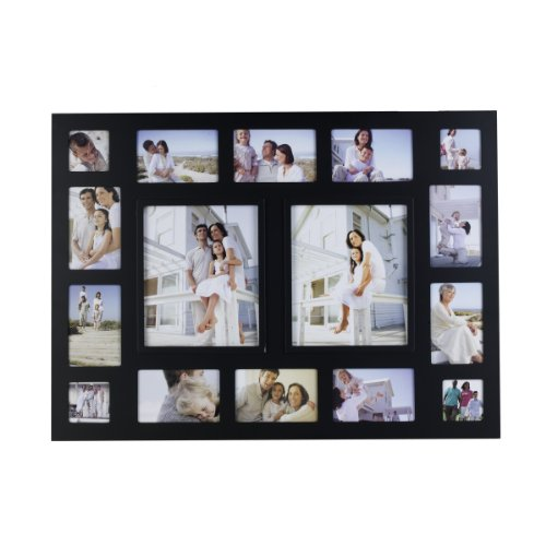 Amazon.com - Melannco 16-Opening Collage Frame, Black -