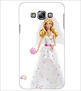 PrintDhaba Barbie Princess D-1028 Back Case Cover for SAMSUNG GALAXY A7 (Multi-Coloured)