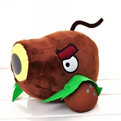 Luk Oil Plants Vs Zombies 2 Series Plush Toy Coconut Cannon PP Cotton Doll Small Size