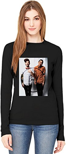 Twenty One Pilots T-Shirt da Donna a Maniche Lunghe Long-Sleeve T-shirt For Women| 100% Premium Cotton Ultimate Comfort Large