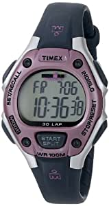 Timex Women's T5K0209J Ironman Traditional 30-Lap Pink/Gray Resin Strap Watch