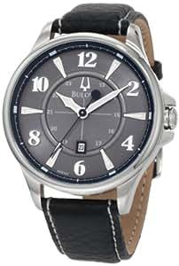 Bulova Men's 96B151 Adventurer Leather strap Watch