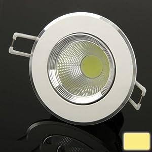 XuMarket(TM) 5W Warm White Down Light / LED Ceiling Lights / LED Days Lanterns Light Bulb, Luminous Flux: 550LM from XuMarket
