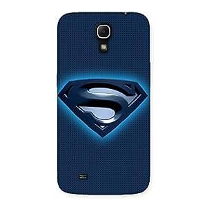 Premium Premier Blue Day Multicolor Back Case Cover for Galaxy Mega 6.3