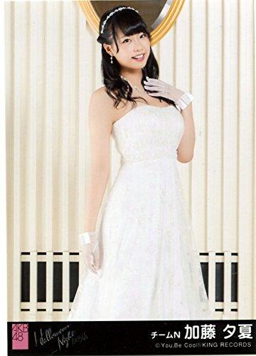 AKB48 公式生写真 ハロウィン・ナイト 劇場盤 君にウェディングドレスを… Ver. 【加藤夕夏】