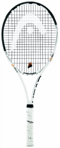 Head Speed MP 18/21 Tennis Racquet, White/Black - Grip 3