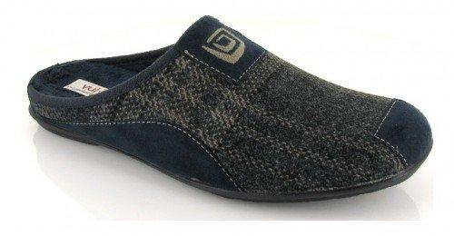 VUL-LADI, Pantofole uomo Blu Azul marino