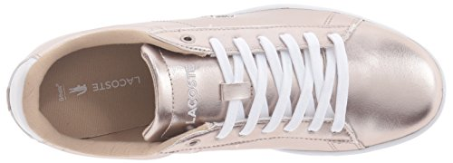 Lacoste Women's Carnaby Evo 316 2 Spw Fashion Sneaker, Grey, 8 M US