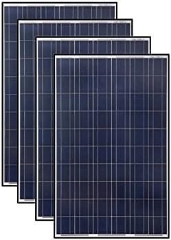 4-Pk. 265-Watt Polycrystalline Solar Panel
