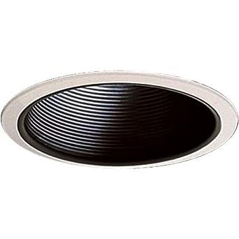baffle recessed lighting trim size 7 w x 7 d recessed light